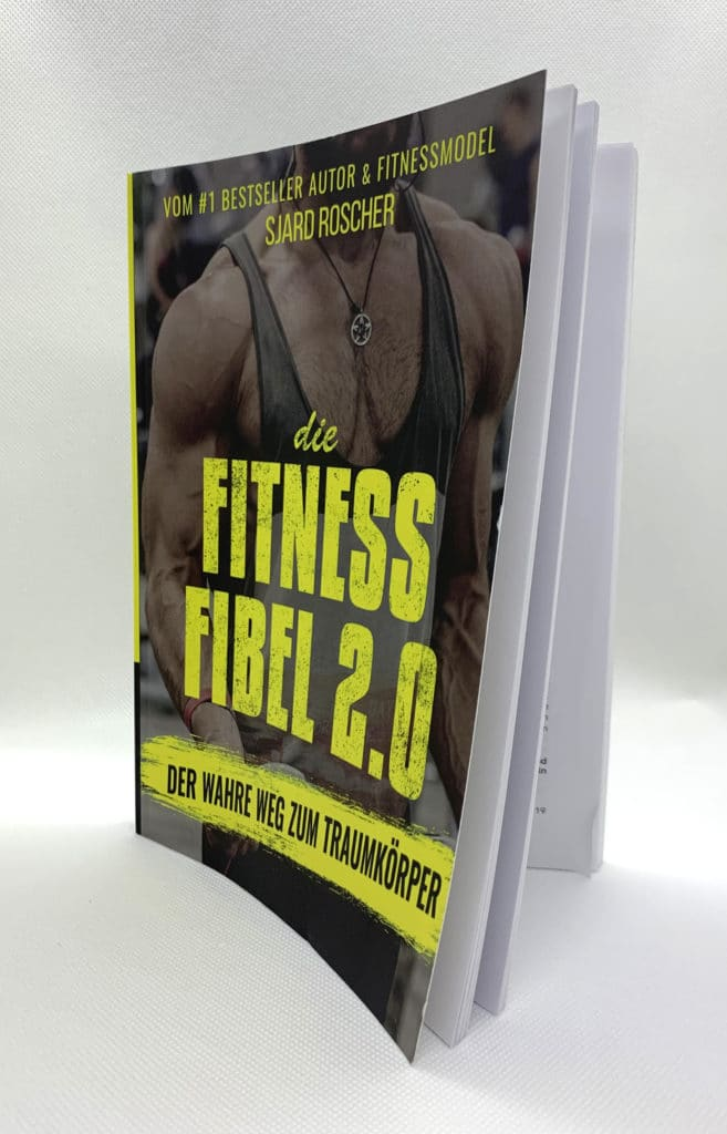 gratis-buch | Buchvorderseite Fitness Fibel 2.0
