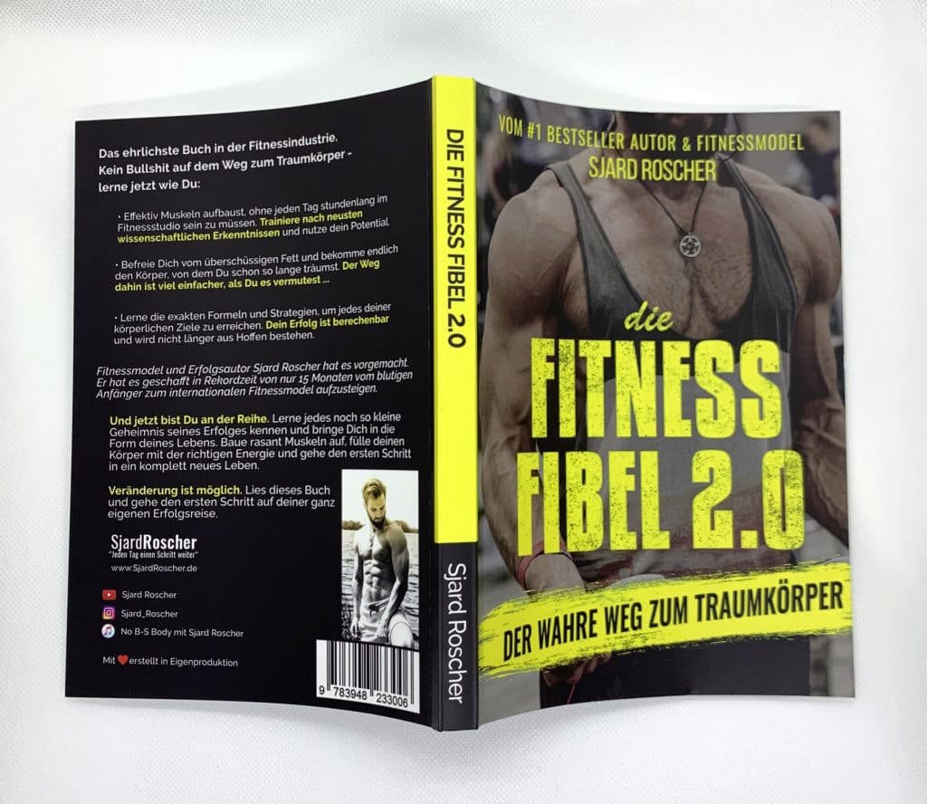 gratis-buch | Buchumschlag Fitness Fibel 2.0