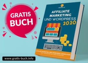 gratis-buch | Affiliate-Marketing und WordPress, Geld verdienen mit Nischenwebseiten