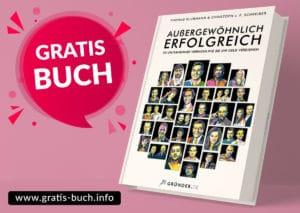 gratis-buch | Außergewöhnlich Erfolgreich, das neue Buch mit 30 Unternehmererfolgsgeschichten von gründer.de