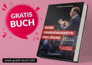 gratis-buch | Deine Unabhängigkeitserklärung von Thomas Klußmann