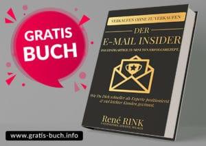 gratis-buch | Der E-Mail insider. In 33 Minuten zum Erfolg.