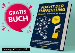 gratis-buch | Macht der Empfehlung, erfolgreiches Netzwerken mit System