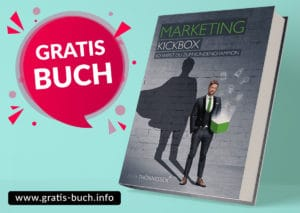 gratis-buch | Marketing Kickbox, so wirst du zum Kundenchampion.