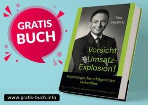 gratis-buch | Vorsicht Umsatz Explosion die Psychologie des erfolgreichen Verkaufens.