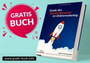 gratis-buch | Zünde den Medienbooster im Onlinemarketing